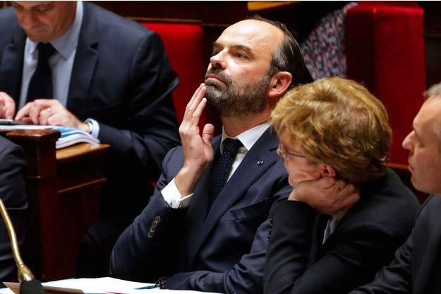 Edouard Philippe à l'Assemblée nationale mercredi.