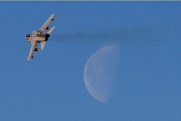 Un Tornado de la Royal Air Force, semblable à celui qui a conduit des frappes en Syrie.
