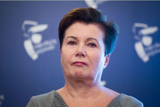 Hanna Gronkiewicz-Waltz en octobre 2017