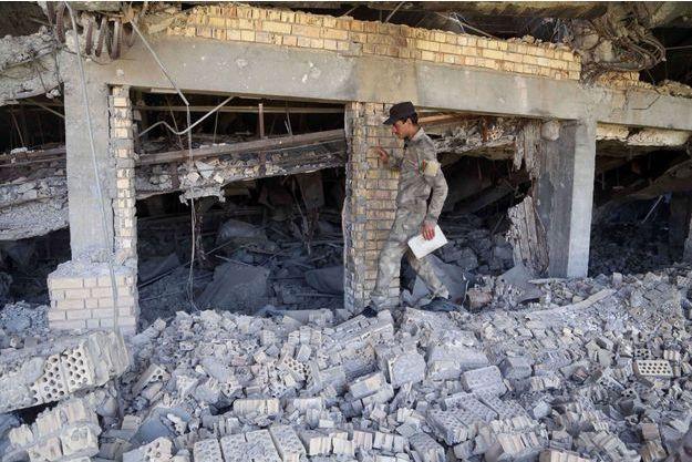 La tombe de Saddam Hussein a été détruite dans les combats entre l'armée irakienne et Daech.