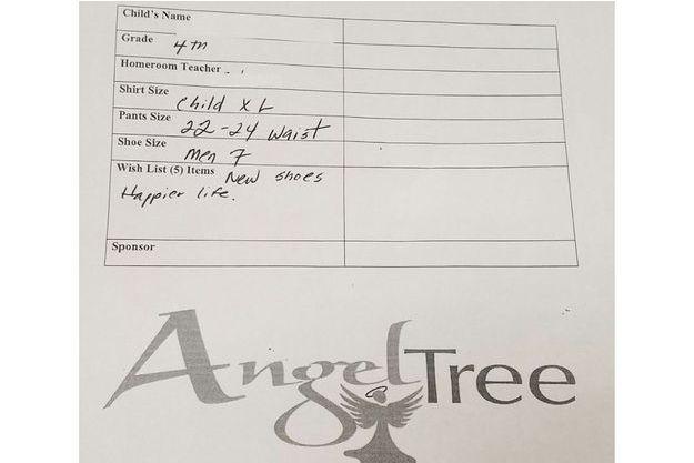 Lettre rédigée par un enfant de 9 ans