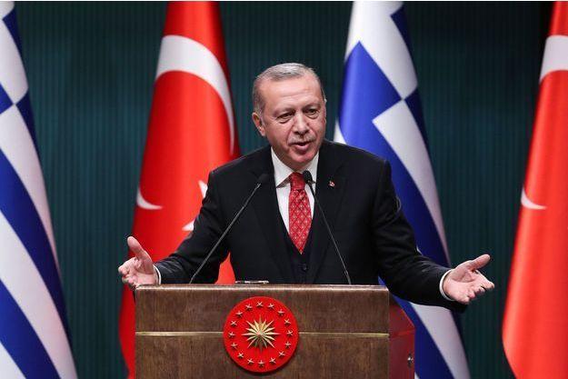 Recep Erdogan le 5 février 2019.