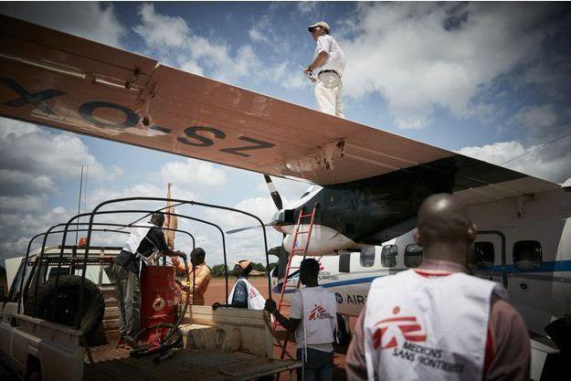 Arrivée de matériel médical à Bria, en Centrafrique (image d'illustration).