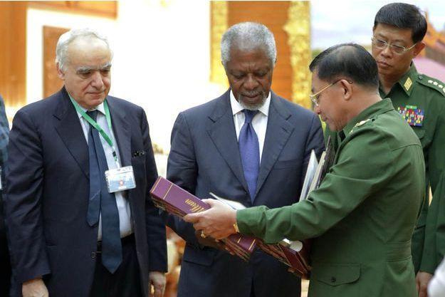 Ghassan Salamé avait été l'émissaire de Kofi Annan en Birmanie.
