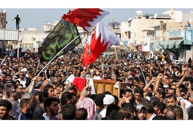 Hier, aux funérailles d'Ali Abdulhadi Mushaima, au Bahreïn.