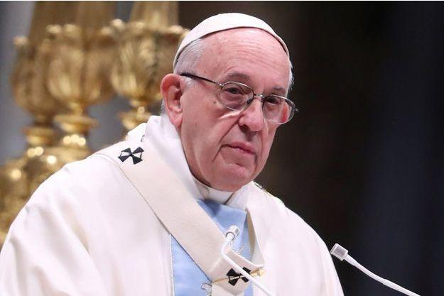 Le pape François le 1er janvier dernier.