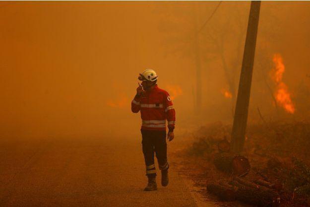 Un pompier portugais.