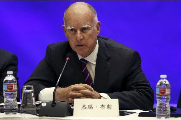 Jerry Brown, le gouverneur de l'Etat de Californie.