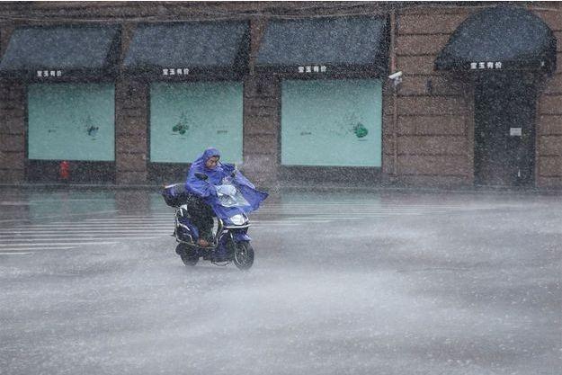 Le typhon Lekima a fait de nombreux dégâts en Chine.