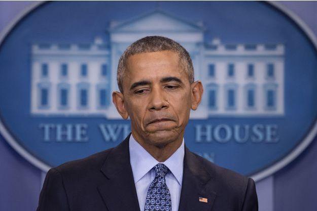 Barack Obama photographié le 18 janvier 2017.