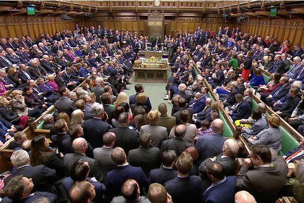Le Parlement britannique mardi.