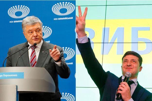 Petro Porochenko, Volodymyr Zelensky