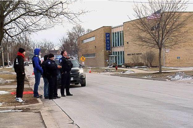 Une fusillade a eu lieu à Aurora, dans l'Illinois, le 15 février 2019.