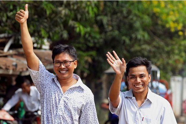 Wa Lone et Kyaw Soe Oo