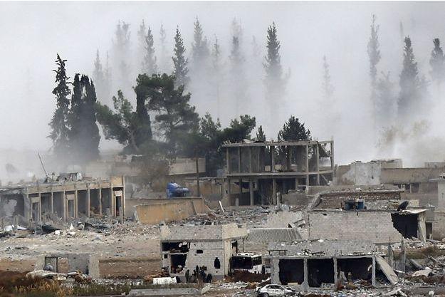 Les combats ont fait rage pendant plusieurs mois (photo datant de novembre 2014).