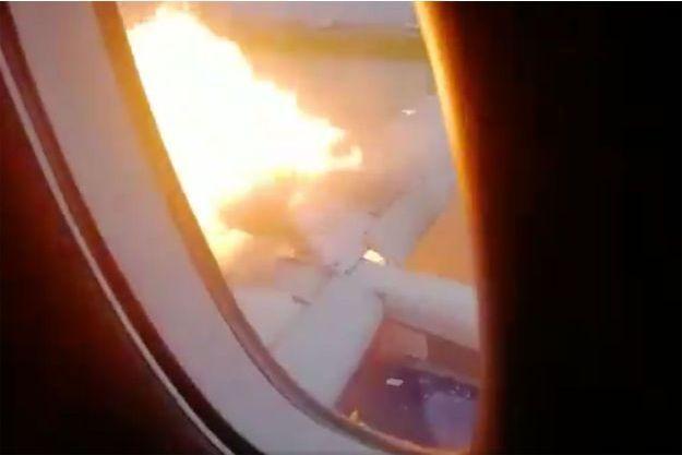 """Capture d'écran de la vidéo publiée par """"BAZA""""."""