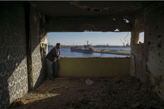 Le 4 mai 2019, Ahmed Aribi dans la chambre qu'il occupait dans l'appartement familial rue du 23-juillet à Benghazi.