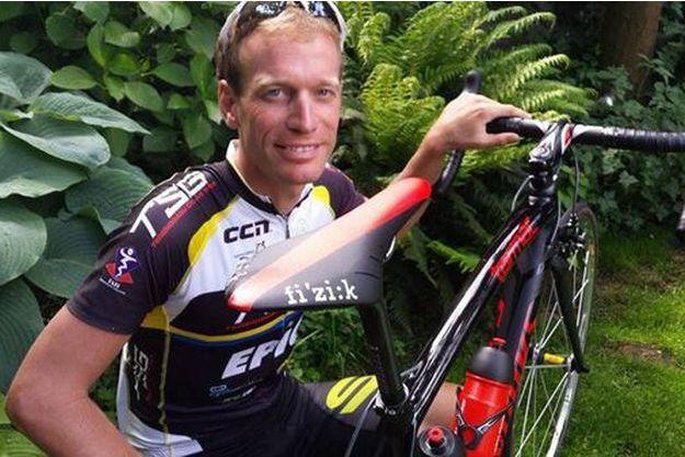 Maarten de Jonge, le cycliste rescapé des drames de la Malaysia Airlines.