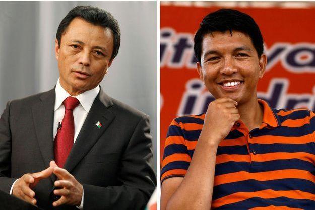 Marc Ravalomanana et Andry Rajoelina sont qualifiés pour le second tour de la présidentielle malgache.