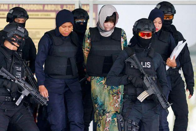 Doan Thi Huong, une des accusées.