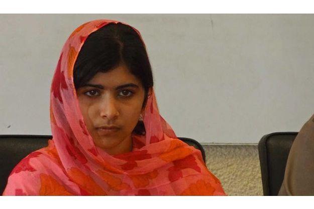 Malala à Karachi le 5 février 2012.
