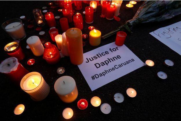Justice est demandée pour Daphne Caruana Galizi.