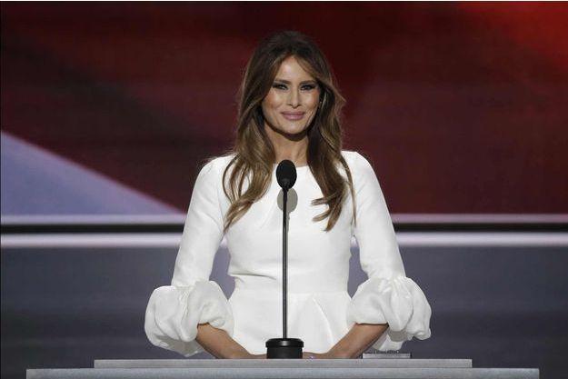 Melania Trump lundi 18 juillet 2016 à Cleveland (Ohio).
