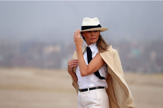 Melania Trump au Caire, le 6 octobre.