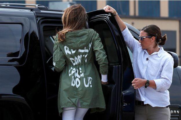 Melania Trump et sa veste au message déroutant