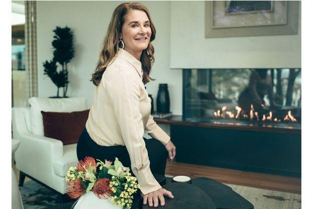 Dans les bureaux de sa société à Seattle, le 29 mars. La milliardaire philanthrope dirige un fonds d'investissement qui finance les start-up lancées par des femmes.
