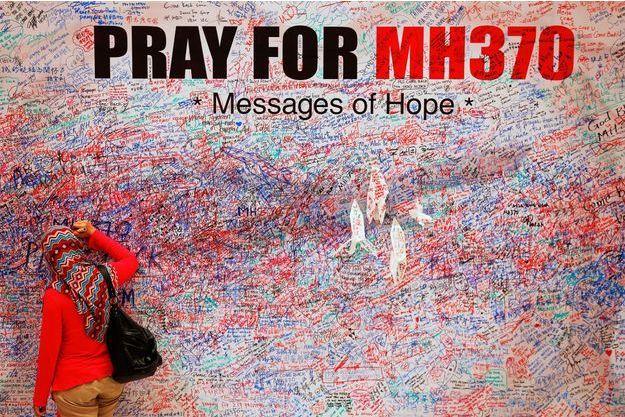 Le MH370 a disparu le 8 mars 2014, avec 239 personnes à bord.