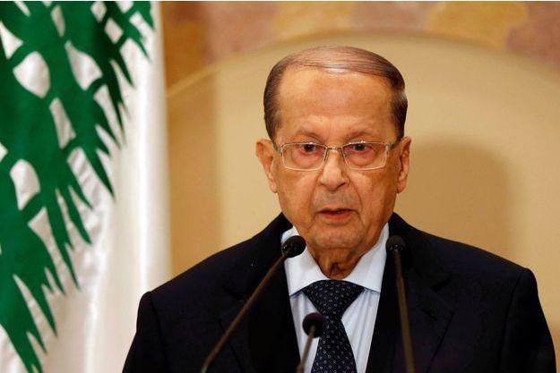 Michel Aoun photographié à Beyrouth, le 20 octobre 2016.