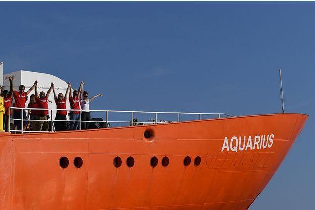 L'Aquarius.