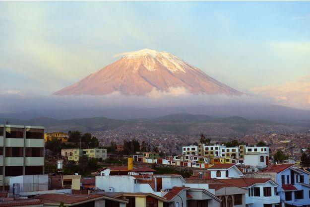 Le volcan Misti au Pérou