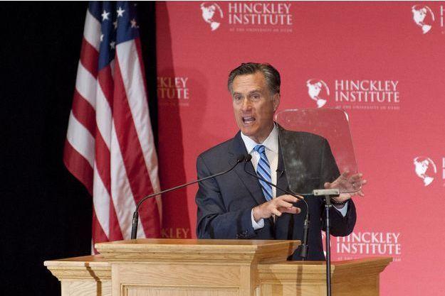 Mitt Romney prononce un discours anti-Donald Trump