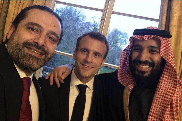 Saad Hariri, Macron et MBS