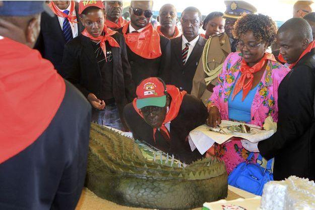 En 2012, Robert Mugabe célébrait ses 88 ans.