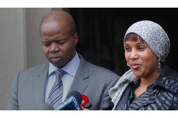 Nafissatou Diallo et Kenneth Thompson
