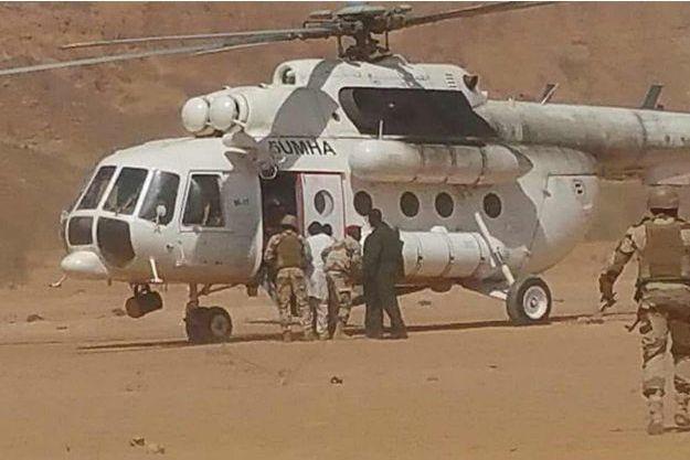 Hama Amadou est en train d'être évacué vers Paris.