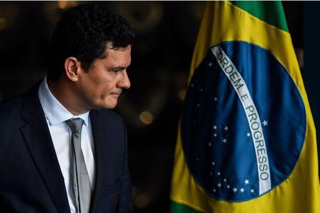 Le nouveau ministre de la Justice, Sergio Moro, à Brasilia, le 2 janvier 2019.