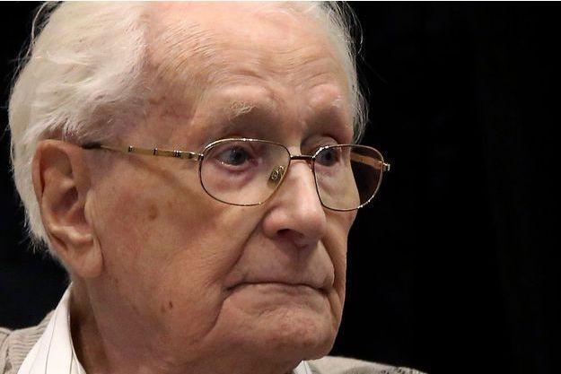 Oskar Gröning, le comptable d'Auschwitz jugé en Allemagne, 70 ans après la libération des camps.