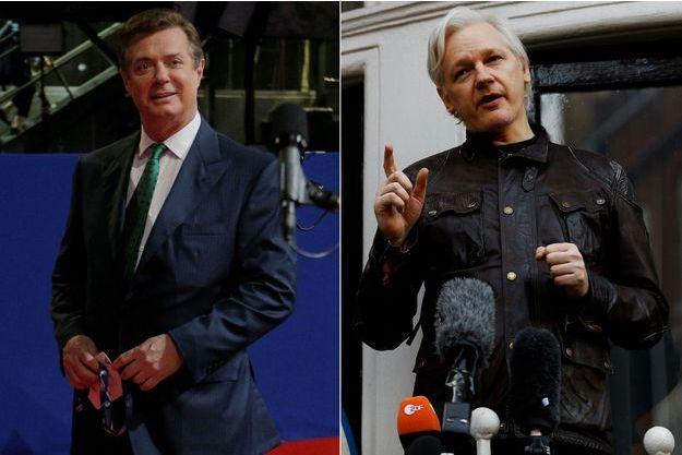 Paul Manafort, Julian Assange