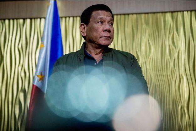 Le président Duterte.