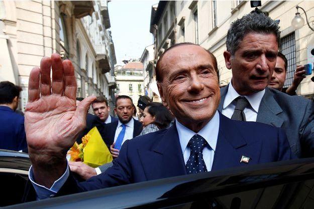Silvio Berlusconi à Milan en octobre 2017.