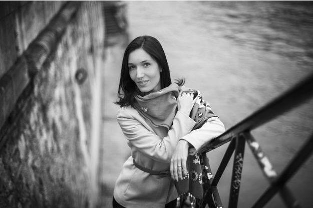 La journaliste Delphine Minoui.