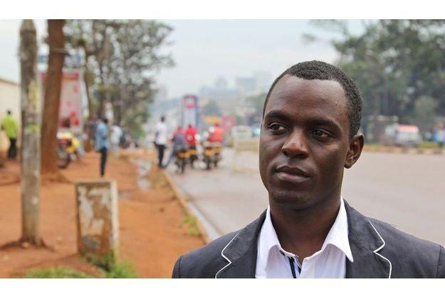 Frank Mugisha, président des «Minorités Sexuelles d'Ouganda».