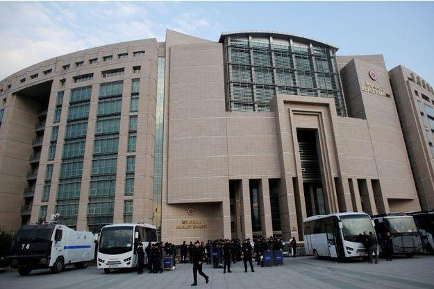 Le palais de justice d'Istanbul.