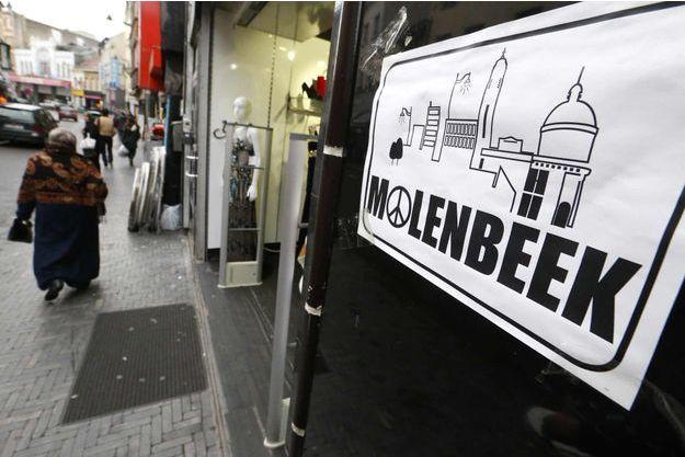 L'enquête sur les attentats de Paris s'est principalement orientée vers la commune bruxelloise de Molenbeek.