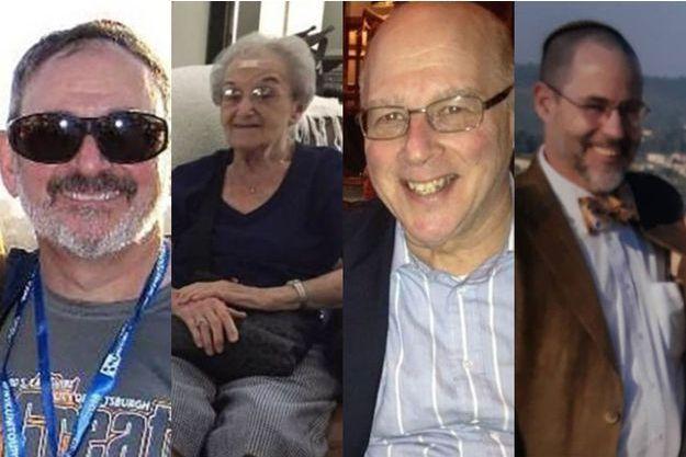 Richard Gottfried, Rose Mallinger, David Stein et Jerry Rabinowitz, sont quatre des onze victimes de la synagogue de Pittsburgh