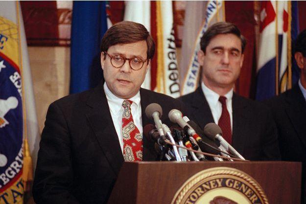 William Barr, Robert Mueller